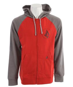 Volcom Half Stone Icon Hoodie Pistol Punch Heather