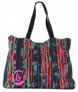Volcom Hardbody Beach Tote Purple Trip
