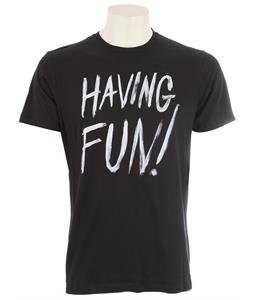 Volcom Having Fun T-Shirt Black
