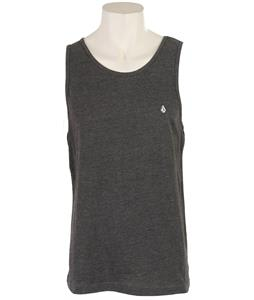 Volcom Heather Solid Tank Heather Black
