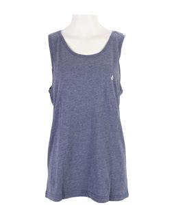 Volcom Heather Solid Tank Matured Blue Heather