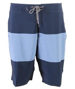 Volcom Heather Stripe Boardshorts Airforce Blue