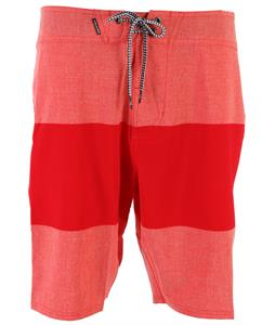 Volcom Heather Stripe Boardshorts Grapefruit