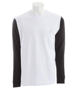 Volcom Heights L/S Pocket T-Shirt White