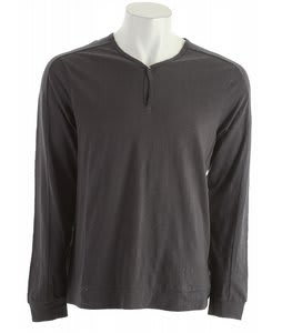 Volcom Henson Henley L/S Shirt Metal Heather