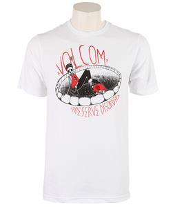 Volcom Hesh Shredder T-Shirt White