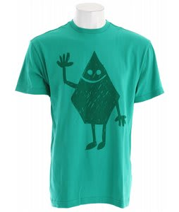 Volcom Hey Stone T-Shirt Emerald Green