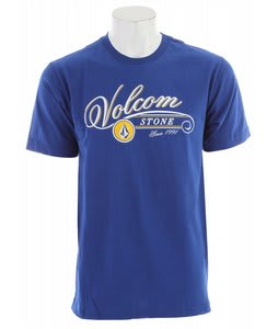 Volcom Hops T-Shirt Bold Blue