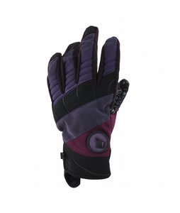 Volcom Hypnotized Pipe Gloves Purple Paint