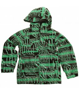 Volcom Impact Insulated Snowboard Jacket Echo Stripe