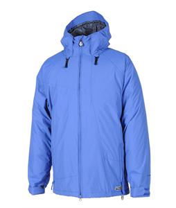 Volcom Industrial Snowboard Jacket Strobe Blue
