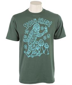 Volcom Insta Sasquatch T-Shirt Jungle Green