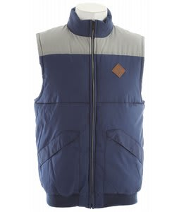 Volcom Intermont Vest Navy Paint