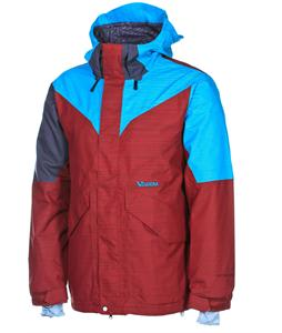 Volcom Iron Snowboard Jacket Maroon