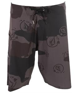 Volcom Island Camo Boardshorts Black