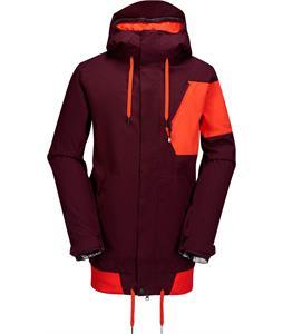 Volcom Isosceles Snowboard Jacket Burgundy