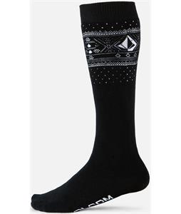 Volcom V-CO Jacquard Socks Black