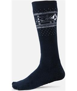 Volcom V-CO Jacquard Socks Navy