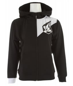 Volcom Jude Full Zip Hoodie Black