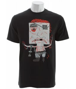 Volcom Kid Creature Fa T-Shirt Black