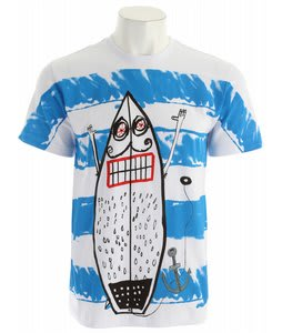 Volcom Kid Creature FA T-Shirt White