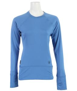 Volcom Kitara Crew Baselayer Top Glacier Blue