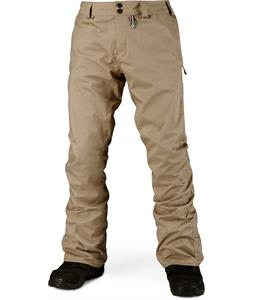 Volcom Klocker Tight Snowboard Pants Khaki