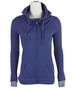Volcom Knit Me A Zip Hoodie Vintage Blue
