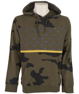 Volcom Krank Pullover Hoodie Fatigue Green