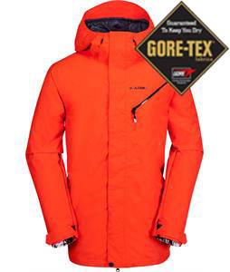 Volcom L Gore-Tex Snowboard Jacket Orange