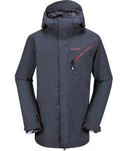 Volcom L Goretex Snowboard Jacket Charcoal