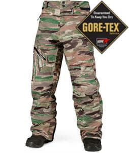 Volcom L Gore-Tex Snowboard Pants Camouflage