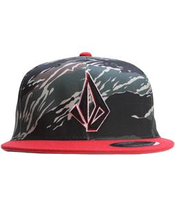 Volcom Layer Cap Blood Red