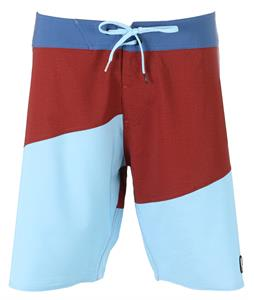 Volcom Lido Slash Boardshorts Crimson