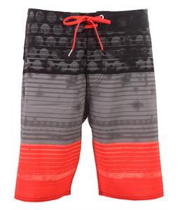 Volcom Lido Stripe Boardshorts Gunmetal