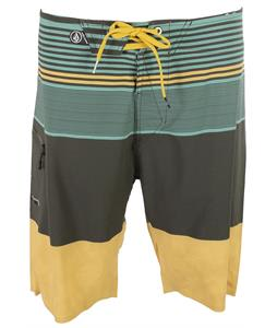 Volcom Linear Mod Boardshorts Oil Yellow