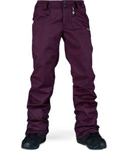Volcom Logic Snowboard Pants Burgundy