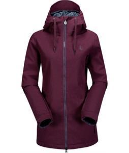 Volcom Magnum Ins Snowboard Jacket Burgundy