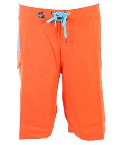 Volcom Maguro Solid Boardshorts Electric Orange