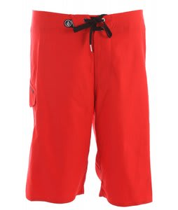 Volcom Maguro Solid Boardshorts Drip Red