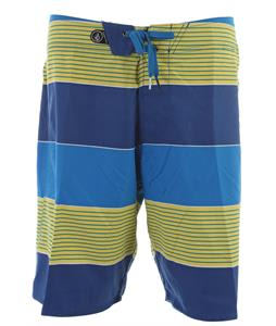 Volcom Maguro Stripe Boardshorts Marina Blue