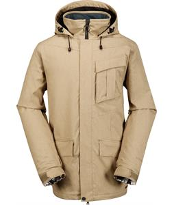 Volcom Mails Ins Snowboard Jacket Khaki