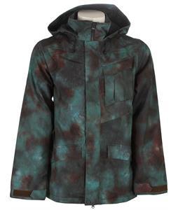 Volcom Mails Ins Snowboard Jacket Mud-Dye
