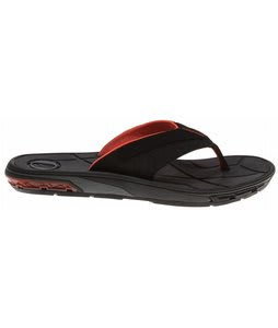 Volcom Main Drain Creedlers Sandals Black