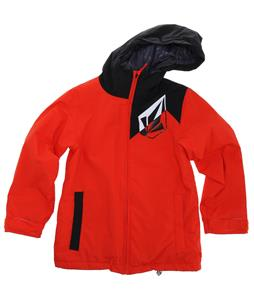 Volcom Mars Insulated Snowboard Jacket Orange