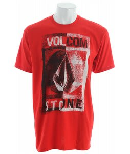 Volcom Mentality T-Shirt Red