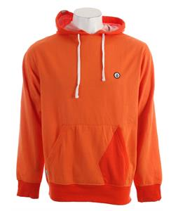 Volcom Miles Hooded Pullover Hoodie Salmon