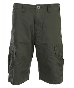 Volcom Mission Cargo Shorts Olive
