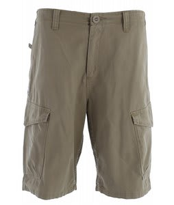 Volcom Mission Too Cargo Shorts Dark Khaki