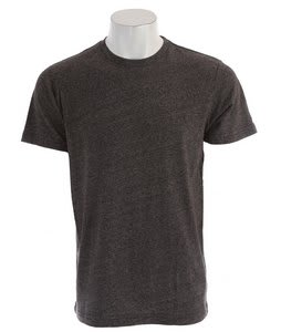 Volcom Mock Twist T-Shirt Heather Black
